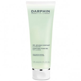 Darphine gel mousse purificant.