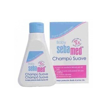 SEBAMED BABY CHAMPÚ SUAVE 250ML
