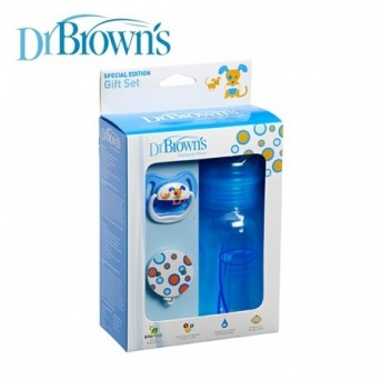 Dr. Brown's set de regalo Azul