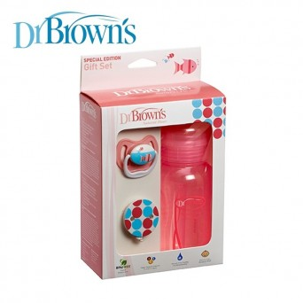 Dr. Brown's set de regalo Rosa