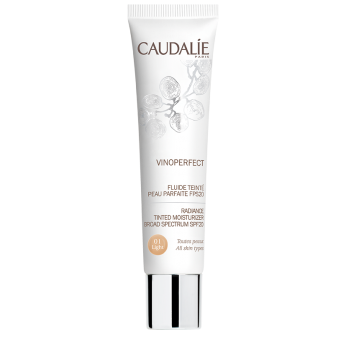 Caudalie fluido con Color Piel FPS20 Light